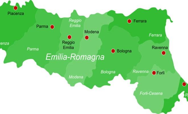 Cartina Emilia Romagna E Lombardia.L Emilia Romagna Al Momento Fuori Da Zone Rossa E Arancione La Cronaca Di Ravenna